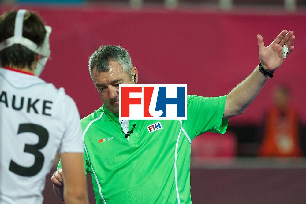 Olympics 2012, hockey, G. Curran, umpire