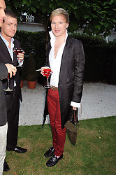 HENRY CONWAY at the Tatler Summer Party, The Hempel Hotel, 31-35 Craven Hill Gardens, London W2 on 25th June 2008.<br /><br />NON EXCLUSIVE - WORLD RIGHTS