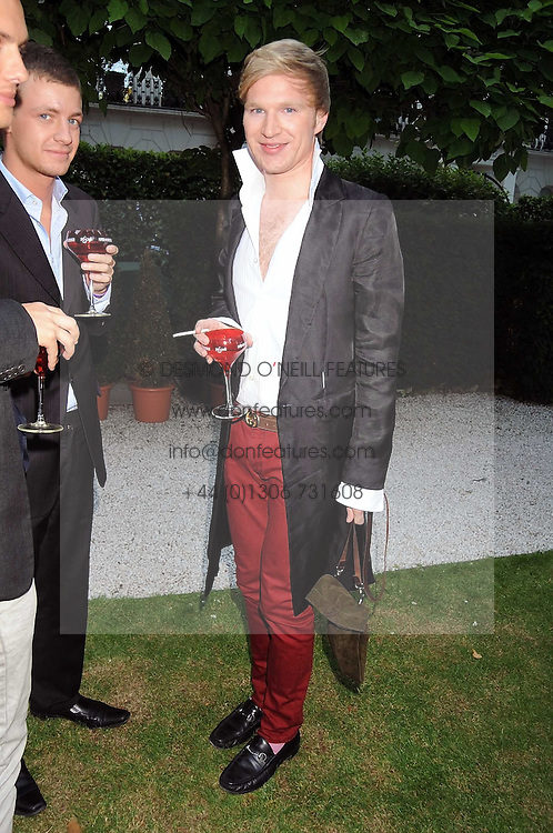 HENRY CONWAY at the Tatler Summer Party, The Hempel Hotel, 31-35 Craven Hill Gardens, London W2 on 25th June 2008.<br />