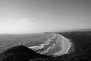 Looking off the Byron Headland south - you could stand there and look at the view all day