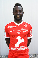 Ali Keita of Brest during the Photo shooting of Stade Brestois in Brest on september 22th 2016<br /> Photo : Philippe Le Brech / Icon Sport