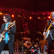 Mike Campbell & Tom Petty at the Gorge Ampitheater on June 11, 2010