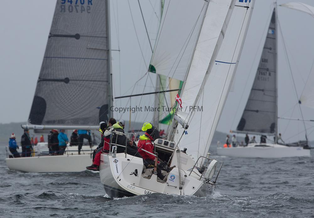 Silvers Marine Scottish Series 2017<br /> Tarbert Loch Fyne - Sailing<br /> <br /> GBR9296C, Vamp, John Mill, CCC, Elan 31<br /> <br /> Credit: Marc Turner / CCC