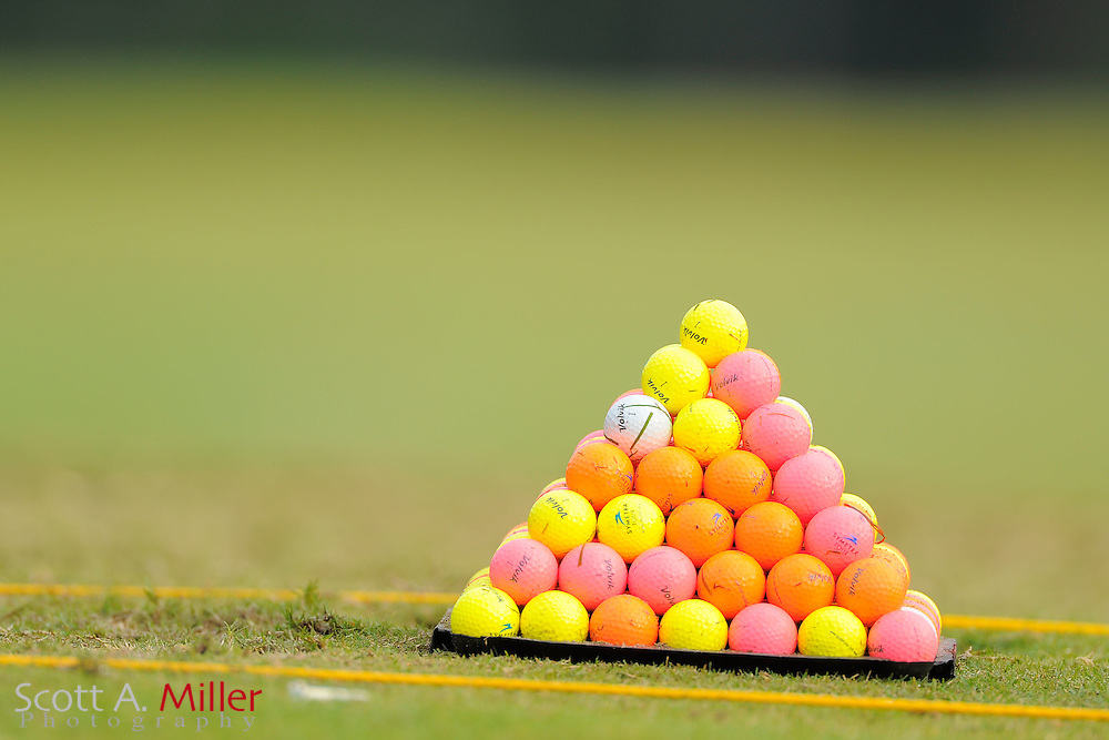 Volvik balls during the Symetra Tour's Eagle Classic at the Richmond Country Club on August 18, 2012 in Richmond, Va...©2012 Scott A. Miller