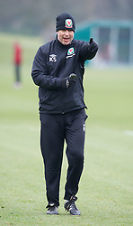 CARDIFF, WALES - Sunday, March 24, 2013: Wales' coach Kit Symons during a training session at the Vale of Glamorgan ahead of the 2014 FIFA World Cup Brazil Qualifying Group A match against Croatia. (Pic by David Rawcliffe/Propaganda)