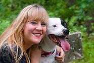 Heather & Dog