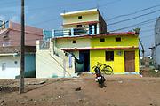 Local and colourfull house at Gopal Nagar, Shahpura, Madhya Pradesh, India.