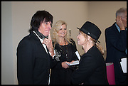 JEFF BECK; SANDRA BECK; LULU, Tracey Emin The Last Great Adventure is You - White Cube, Bermondsey. London. 7 October 2014