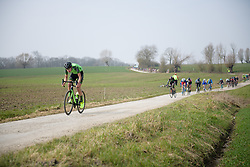 Riejanne Markus (NED) at Gent Wevelgem Elite Women 2018 - a 143 km road race from Ieper to Wevelgem on March 25, 2018. Photo by Sean Robinson/Velofocus.com