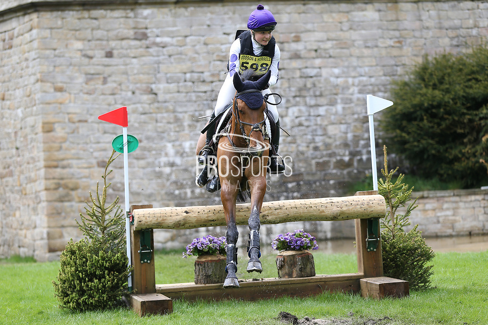 Victoria Smith on Classicals Cash Back during the International Horse Trials at Chatsworth, Bakewell, United Kingdom on 12 May 2018. Picture by George Franks.