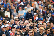 Fan during the friday morning fourballs session of Ryder Cup 2018, at Golf National in Saint-Quentin-en-Yvelines, France, September 28, 2018 - Photo Philippe Millereau / KMSP / ProSportsImages / DPPI
