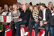 RENEE O'BRIEN; ROSS KEMP; CHARLOTTE TAYLOR; BAND MEMBERS OF BLAKE; HUMPHREY BERNEY;, Stephane St. Jaymes Spring Summer 2011 fashion show.<br /> The Westbury Mayfair, Bond Street, London,DO NOT ARCHIVE-© Copyright Photograph by Dafydd Jones. 248 Clapham Rd. London SW9 0PZ. Tel 0207 820 0771. www.dafjones.com.