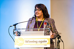 Pictured: Christine Jardine; MP<br /> The Scottish Liberal Democrats stalwarts gathered today in Dunfermline for their Autumn Conference<br /> <br /> Ger Harley | EEm 11 November 2017
