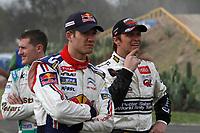 MOTORSPORT - WRC 2010 - RALLY MEXICO GUANAJUATO BICENTENARIO - MEXICO (MEX) - 04 TO 07/03/2010 - PHOTO : FRANCOIS BAUDIN / DPPI<br /> SEBASTIEN OGIER (FRA) - CITROEN JUNIOR TEAM - CITROEN C4 WRC - AMBIANCE PORTRAITPETTER SOLBERG (NOR) - PETTER SOLBERG WRT - CITROEN C4 WRC - AMBIANCE PORTRAIT