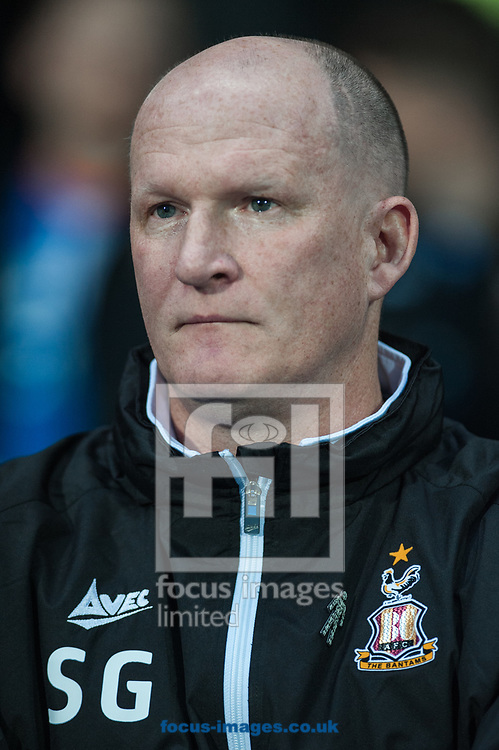 Bradford City manager Simon Grayson during the Sky Bet League 1 match at Ewood Park, Blackburn<br /> Picture by Matt Wilkinson/Focus Images Ltd 07814 960751<br /> 29/03/2018