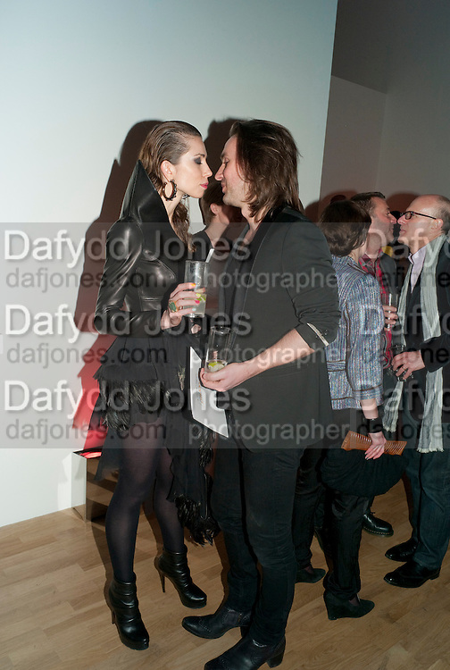 MALGOSIA STEPNIK; KRISTIAN AADNEVIK, TODÕS Art Plus Drama Party 2011. Whitechapel GalleryÕs annual fundraising party in partnership. Whitechapel Gallery. London. 24 March 2011.  with TODÕS and supported by HarperÕs Bazaar-DO NOT ARCHIVE-© Copyright Photograph by Dafydd Jones. 248 Clapham Rd. London SW9 0PZ. Tel 0207 820 0771. www.dafjones.com.<br /> MALGOSIA STEPNIK; KRISTIAN AADNEVIK, TOD'S Art Plus Drama Party 2011. Whitechapel Gallery's annual fundraising party in partnership. Whitechapel Gallery. London. 24 March 2011.  with TOD'S and supported by Harper's Bazaar-DO NOT ARCHIVE-© Copyright Photograph by Dafydd Jones. 248 Clapham Rd. London SW9 0PZ. Tel 0207 820 0771. www.dafjones.com.