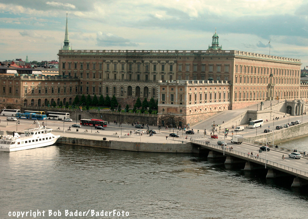 Royal Palace on Gamla Stan in Stockholm, Sweden