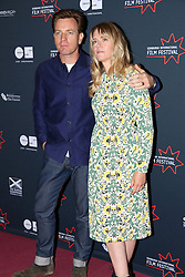 © Licensed to London News Pictures. Edinburgh Cineworld. Edinburgh International Film Festival, Ewan_McGregor_Edith_Bowman,  DOLL&EM,  21/06/2015, Photo Credit: M.Pocwiardowski/LNP