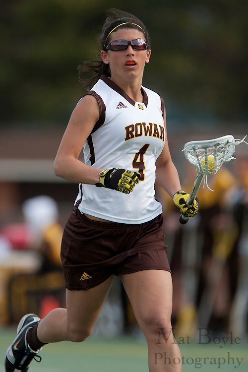 Rowan University  Jr. Midfielder Michelle Lubrano