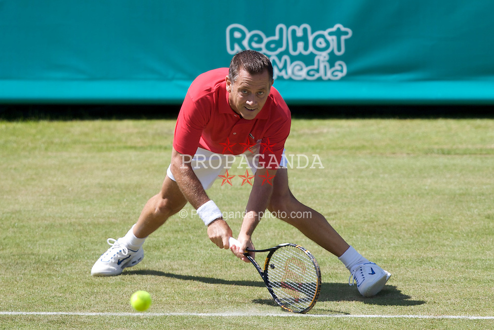 LIVERPOOL, ENGLAND - Tuesday, June 10, 2008: Mikael Pernfors (SWE) during the opening day of the Tradition-ICAP Liverpool International Tennis Tournament at Calderstones Park. (Photo by David Rawcliffe/Propaganda)