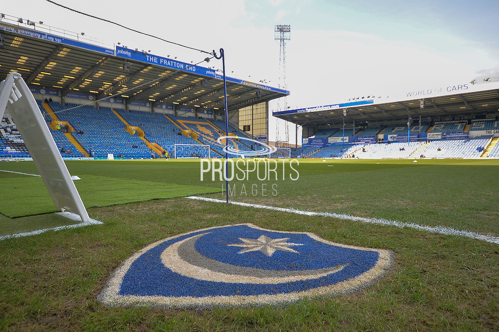Fratton park during the Sky Bet League 2 match between Portsmouth and Cambridge United at Fratton Park, Portsmouth, England on 27 February 2016. Photo by Adam Rivers.