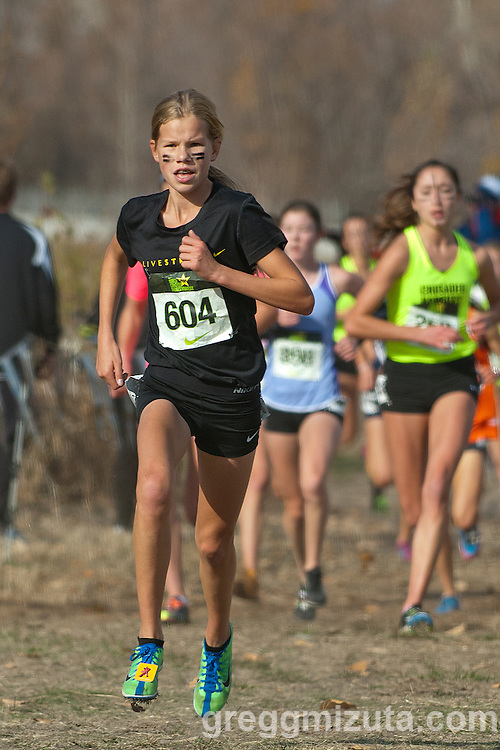 Lacey Conner. NXN Northwest Championships on November 10, 2012 at Eagle Island State Park in Boise, Idaho.