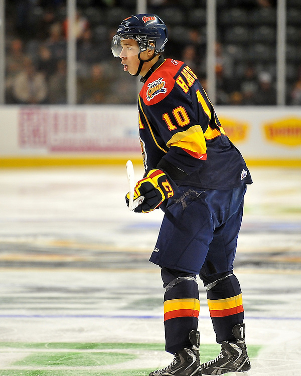 Stephen Harper of the Erie Otters. Photo by Aaron Bell/OHL Images