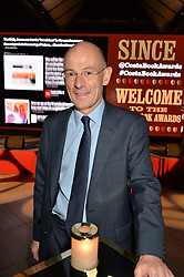 CHRISTOPHER ROGERS MD of Costa at the Costa Book of The Year Awards held at Quaglino's, 16 Bury Street, London on 26th January 2016.