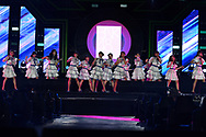 BURIRAM, THAILAND - OCTOBER 07: BNK48  performing on the main stage after the MotoGP PTT Thailand Grand Prix 2018, Chang International Circuit, Buriram, Thailand on October 07, 2018. <br /> .<br /> .<br /> .<br /> (Photo by: Naratip Golf Srisupab/SEALs Sports Images)<br /> .<br /> Any image use must include a mandatory credit line adjacent to the content which should read: Naratip Golf Srisupab/SEALs Sports Images