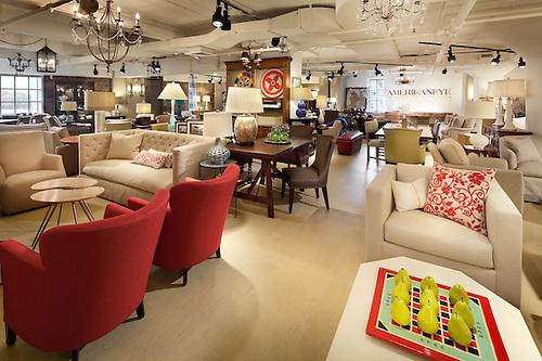 American Eye Furniture Showroon At Washington DC Design Center.
