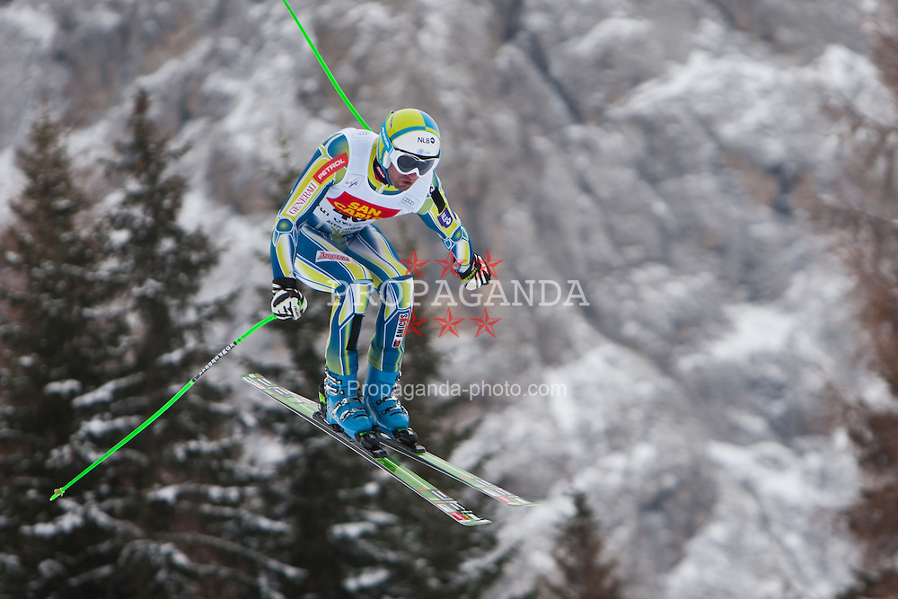 15.12.2011, Saslong, Groeden, ITA, FIS Weltcup Ski Alpin, Herren, 2. Training Abfahrt, im Bild Gasper Markic (SLO) // Gasper Markic of Slovenia during 2th practice session men's downhill at FIS Ski Alpine Worldcup at Saslong in Groeden, Italy on 2011/12/15. EXPA Pictures © 2011, PhotoCredit: EXPA/ Johann Groder
