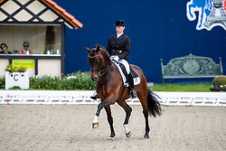 WEGO Nicole (GER), Budhi<br /> Hagen - Horses and Dreams 2019 <br /> Nürnberger Burg-Pokal St-Georg-Special<br /> Qualifikation zur Finalqualifikation<br /> 25. April 2019<br /> © www.sportfotos-lafrentz.de/Stefan Lafrentz