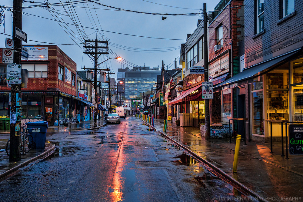 Kensington Market in the Rain