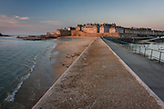 St. Malo was a city of corsairs. Intramuros is the old part of the city, the one that stays inside its granite walls.