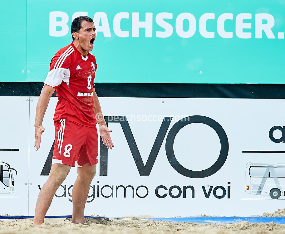 JESOLO, ITALY - SEPTEMBER 07:  FIFA Beach Soccer World Cup 2017 Qualifier Europe - Jesolo 2016 at Lido di Jesolo on September 07, 2016 in Jesolo, Italy. (Photo by Manuel Queimadelos)