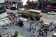 Visiting Hollywood Blvd In Los Angeles