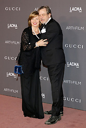 Marilou York and Mark Hamill at the 2017 LACMA Art + Film Gala held at the LACMA in Los Angeles, USA on November 4, 2017.