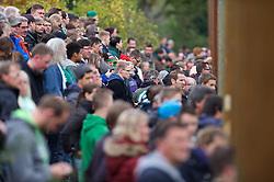 26.10.2014, Weserstadion, Bremen, GER, 1. FBL, Werder Bremen, Training, im Bild mehrere hundert Zuschauer verfolgten die erste Einheit unter dem neuen Trainerteam, bestehend aus Viktor Skripnik (Cheftrainer SV Werder Bremen), Torsten Frings (Co-Trainer SV Werder Bremen), Florian Kohfeldt (Co-Trainer SV Werder Bremen) und Christian Vander (Torwarttrainer SV Werder Bremen) // during a Training of German Bundesliga Club SV Werder Bremen at the Weserstadion in Bremen, Germany on 2014/10/26. EXPA Pictures © 2014, PhotoCredit: EXPA/ Andreas Gumz<br /> <br /> *****ATTENTION - OUT of GER*****