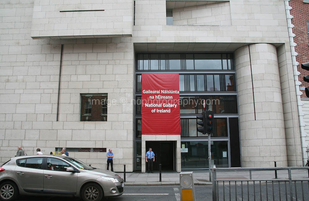 National Gallery of Ireland building  in Dublin