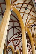 gotische Stadtkirche innen, Jena, Thüringen, Deutschland | town church, interior, Jena, Thuringia, Germany