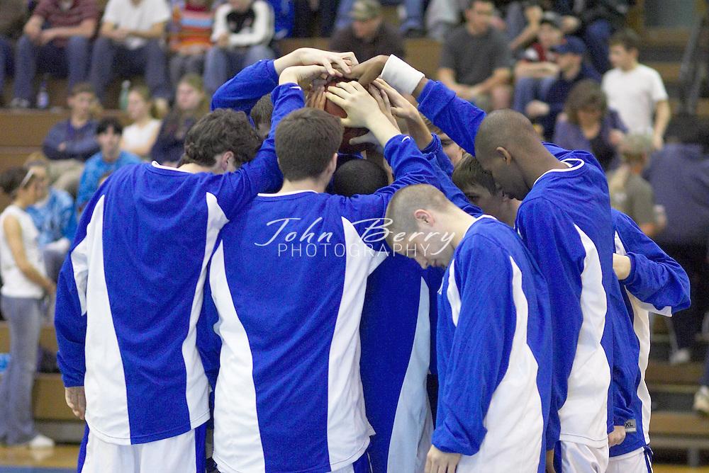 JV Boys Basketball..vs Strasburg..February 8, 2005