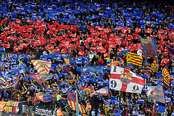 02.04.2016, Camp Nou, Barcelona, ESP, Primera Division, FC Barcelona vs Real Madrid, 31. Runde, im Bild FC Barcelona's supporters // during the Spanish Primera Division 31th round match between Athletic Club and Real Madrid at the Camp Nou in Barcelona, Spain on 2016/04/02. EXPA Pictures © 2016, PhotoCredit: EXPA/ Alterphotos/ Acero<br /> <br /> *****ATTENTION - OUT of ESP, SUI*****