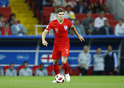 July 3, 2018 - Moscow, Russia - Round of 16 England v Colombia - FIFA World Cup Russia 2018.John Stones (England) at Spartak Stadium in Moscow, Russia on July 3, 2018. (Credit Image: © Matteo Ciambelli/NurPhoto via ZUMA Press)