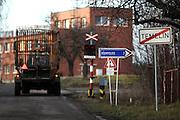 Temelin/Tschechische Republik, CZE, 11.12.06:  Das Dorf Temelin in S&uuml;d-Boehmen. Temelin hat 750 Einwohner, 310 davon wohnen im Hauptort. In der N&auml;he vom Dorfkern steht das umstrittene Atomkraftwerk.<br /> <br /> Temelin/Czech Republic, CZE, 11.12.06: The Temelin village has 750 inhabitants - 310 of them are living in the centre of the village. In this South Bohemian village the Temelin Nuclear Power Station is situated.