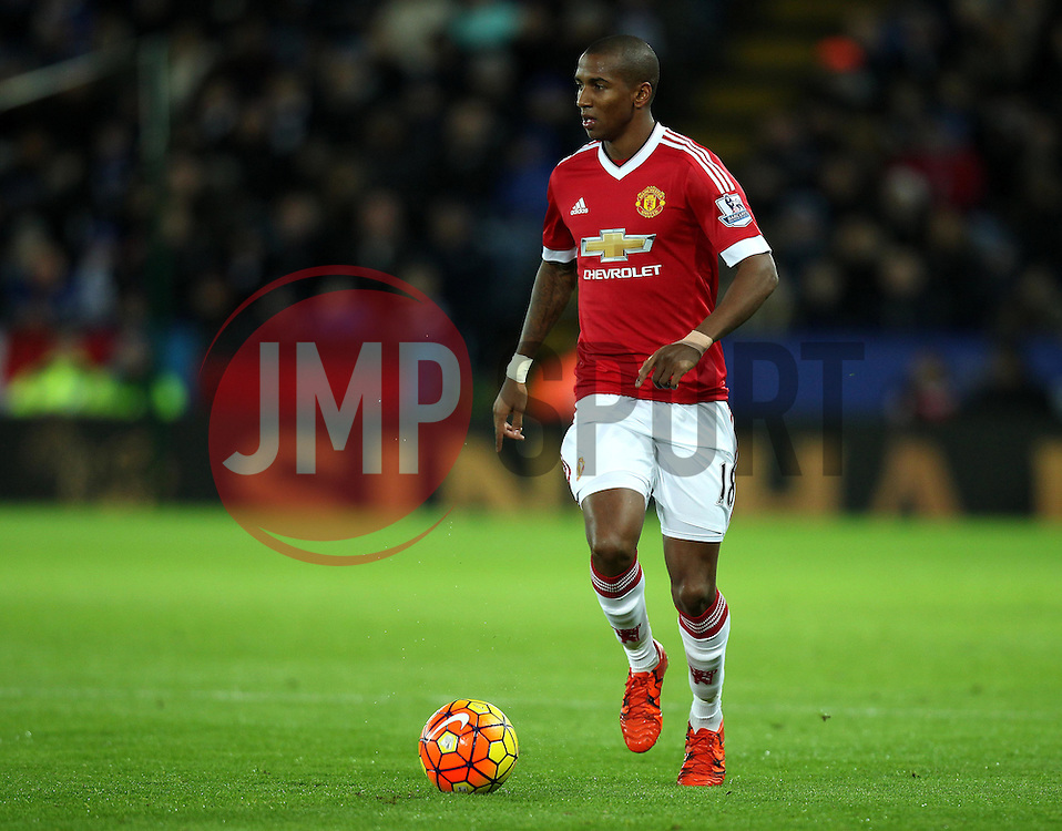 Ashley Young of Manchester United - Mandatory byline: Robbie Stephenson/JMP - 28/11/2015 - Football - King Power Stadium - Leicester, England - Leicester City v Manchester United - Barclays Premier League