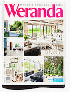 Professional interior photography by Piotr Gesicki publication in Weranda Magazine