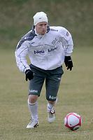Fotball<br /> Norge trener i Tyskland foran landskampen mot Sør-Afrika<br /> Frankfurt<br /> 26.03.2009<br /> Foto: Alfred Harder, Digitalsport<br /> NORWAY ONLY<br /> <br /> Tom Høgli