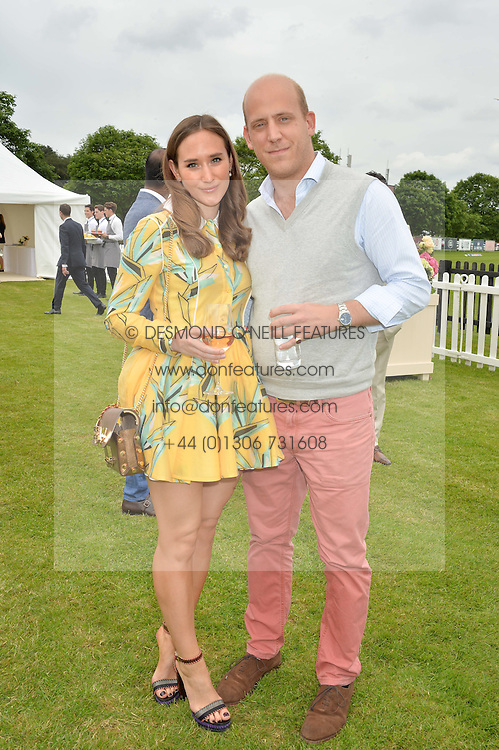 CARLO CARELLO and ALEX EDWARDS at the Cartier Queen's Cup Final 2016 held at Guards Polo Club, Smiths Lawn, Windsor Great Park, Egham, Surry on 11th June 2016.