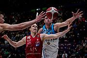 Roll Michael <br /> A X Armani Exchange Olimpia Milano - Vanoli Cremona <br /> Basket Serie A LBA 2019/2020<br /> Milano 09 February 2020<br /> Foto Mattia Ozbot / Ciamillo-Castoria