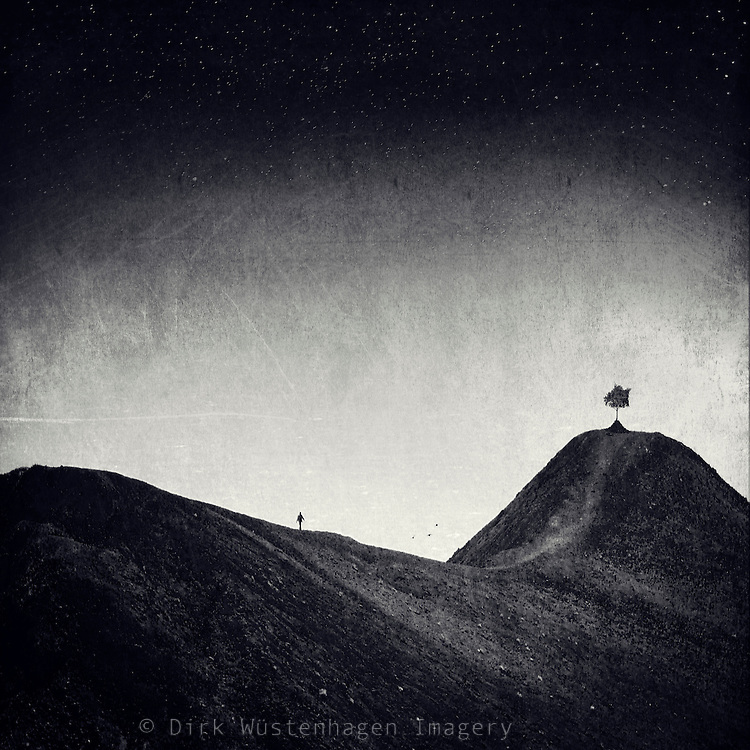 Surreal landscape. Shot in the volcanic wasteland in the south of La Palma. <br />